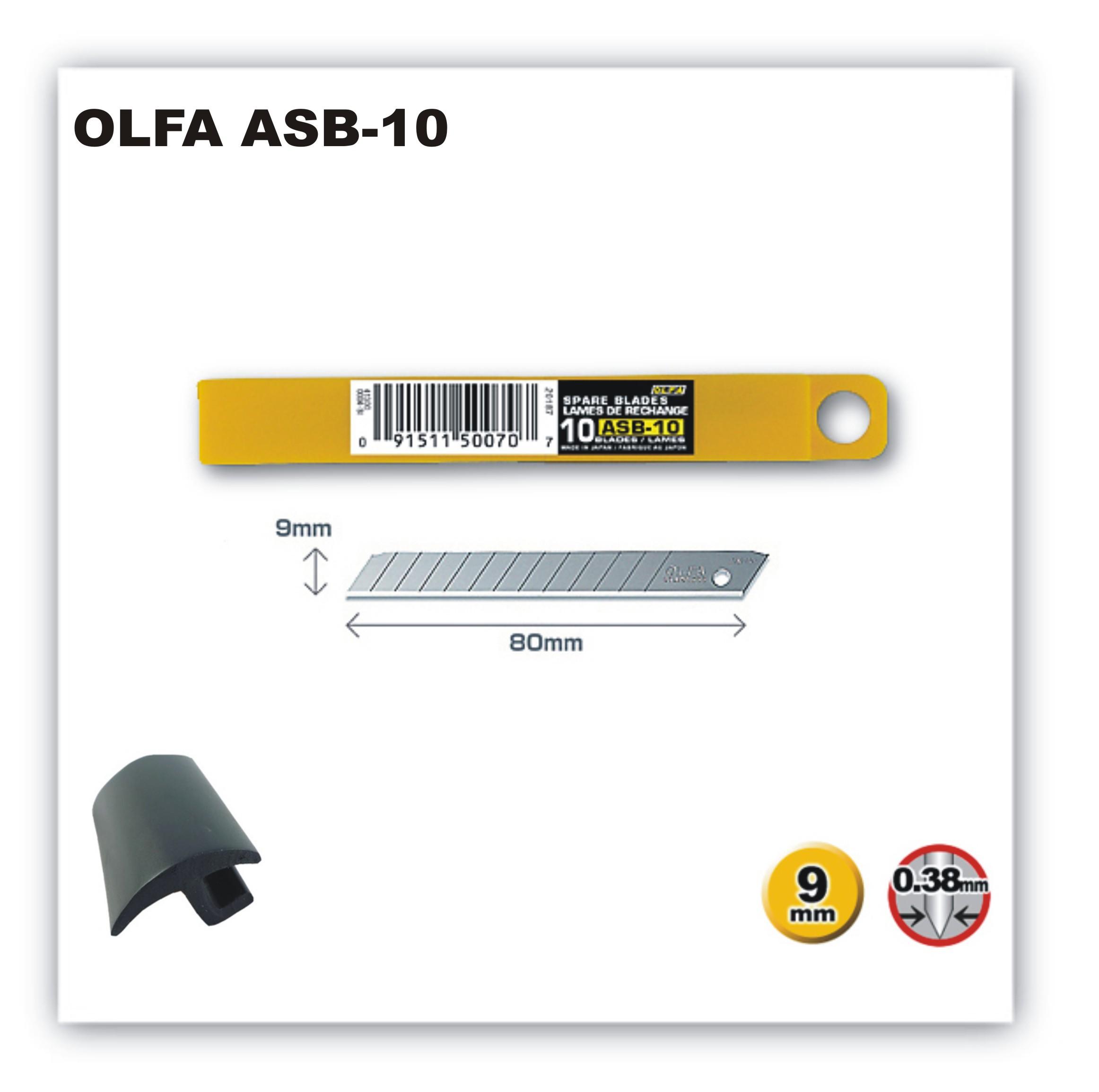 9 mm-es standard Olfa penge ?OLFA ASB-10