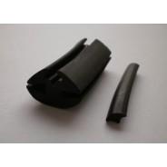 H-profil, 24 mm széles, munkagép szélvédő gumi profil -UNI348