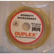 Sodrott kivágó drót - arany színű ?DSD25