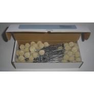 Pamacs -kenőfilc -applikátor (130 mm/100 db) -DAP130
